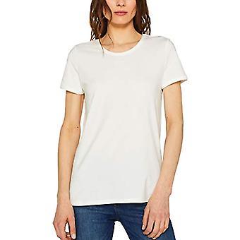 edc by Esprit 049CC1K014 T-Shirt, White (off White 110), XS Women
