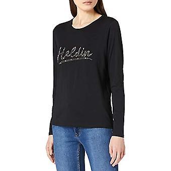Herrlicher Nerissa Jersey T-Shirt, Black 11, XL Women