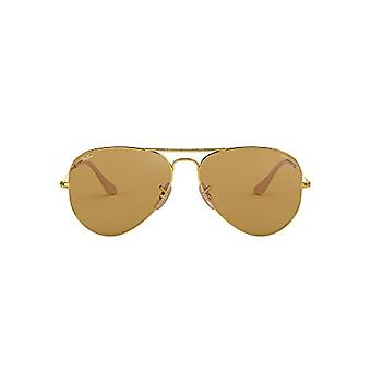 Ray-Ban 0RB3025, Lunettes de soleil unisexes Adulte, Or (Brown Photocromic), 58