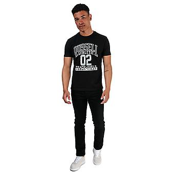 Men's Russell Athletic Track and Field T-Shirt in Black