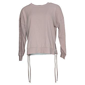 AnyBody Kvinders Sweater (XXS) Hyggelig Konge Fransk Terry Purple