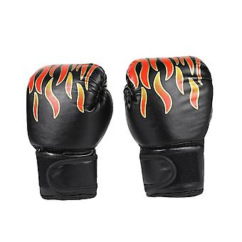 Children Pu Leather Training Fighting Boxing Gloves
