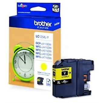Brother LC-125XLY Tintenpatrone gelb, 1.2K Seiten, 10ml