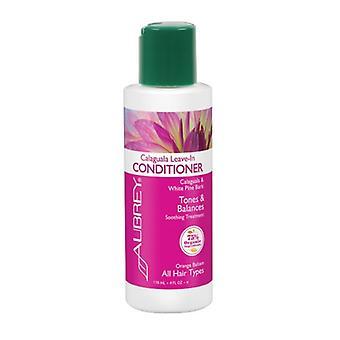 Aubrey Organics Calaguala Fern Conditioner Tones & Balances, 4 Oz