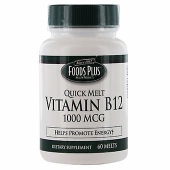 Windmill Health Vitamin B12, 1000mcg, Quick Melt 60 Tabs
