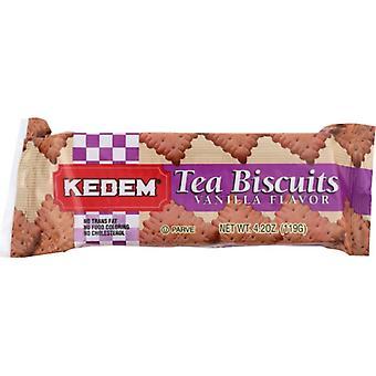 Kedem Tea Biscuit Vanilla, Case of 24 X 4.2 Oz