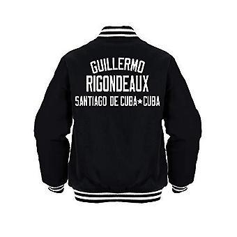 Sporting empire guillermo rigondeaux boxing legend jacket black/white - x-large