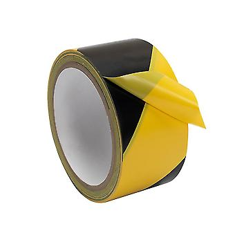 48mmx18m Road Transportation Safety Pvc Warning Tape Reflective Strip For Vehicle Fense Obstacle