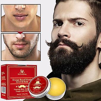 Baume de croissance à moustache à barbe pour hommes