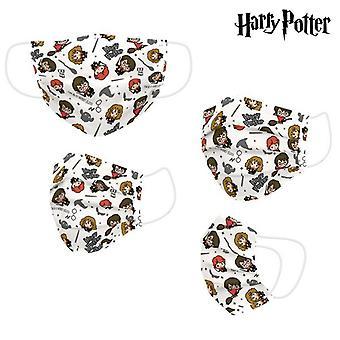 Hygienische wiederverwendbare Stoffmaske Harry Potter Beige