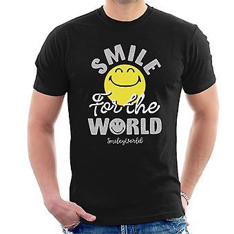 Smiley World Smile For The World Men's T-Shirt