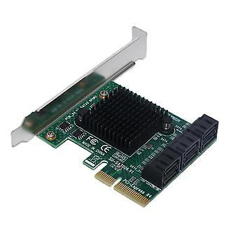 SA3006 PCI - E naar SATA 3.0 uitbreidingskaart met zes - poort 6 Gbps voor desktopcomputer