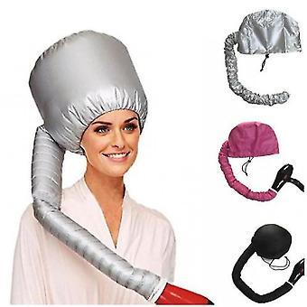 Draagbare haardroger föhn cap super haardroger olie cap doet geen pijn haar (rood)