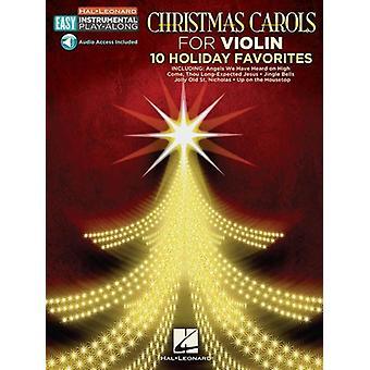 Julsånger - Violin: 10 semesterfavoriter