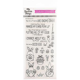 """Meine Lieblingsdinge Birdie Brown Stamps 4""""X8"""" - Spring Gnomes"""