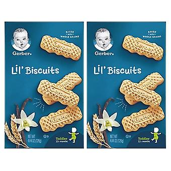 Gerber Lil' Biscuits Vanilla Wheat 2 Pack