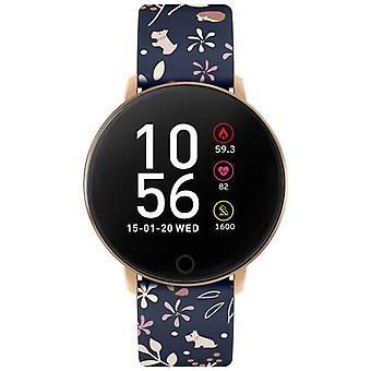 Radley Smart Rys05-2046 Black Dial Rubber Strap Ladies Watch