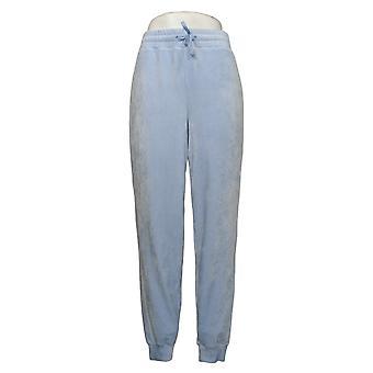 Soft + Cozy Women's Pants Reg Polyester Joggers Blue 627589