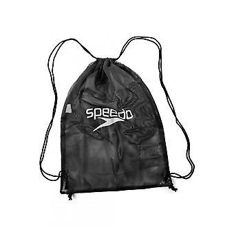 Speedo kevyt suuri kapasiteetti kestävä kiristys nauha uinti Mesh laukku