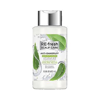 Re-fresh anti-dandruff conditioner silicone free, eucalyptus and cooling relief, 13.5 oz