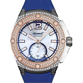 Ingersoll Blue Silicone IN1104BL Women's Watch