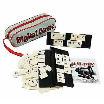 Board games original digital game israel mahjong fast moving rummy tile family game travelling version classic