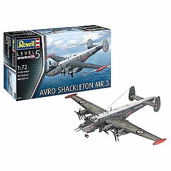 Avioane de jucărie 1:72 avro shackleton mk.3 Kit de model de avion