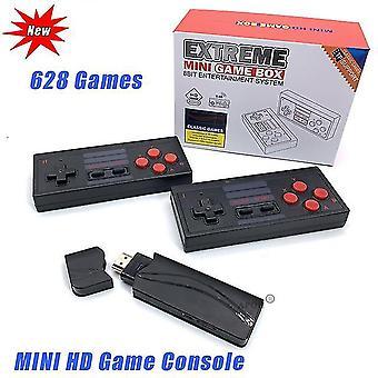 Usb console de vídeo sem fio tv jogo stick 4k console portátil 8 bit mini retro controlador hd