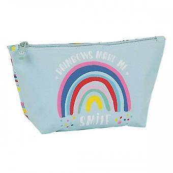 School Toilet Bag Glow Lab Rainbow