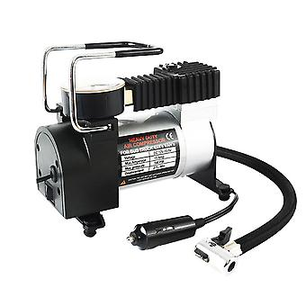 12v Car Tyre Inflator Single Cylinder Air Compressor Metal Tire Inflator High Pressure Air Pump