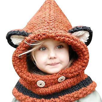 כובע אטמי אוזניים חמים בחורף לנערות