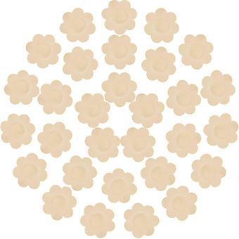 Housses de poitrine jetables pour mamelons Petal Pasties 15 paires