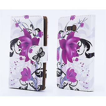 Design book for Alcatel Pixi 4 (5.5) - Purple Rose