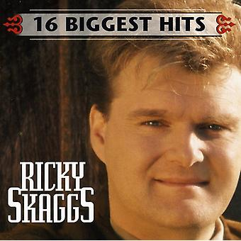 Ricky Skaggs - 16 Biggest Hits [CD] USA import