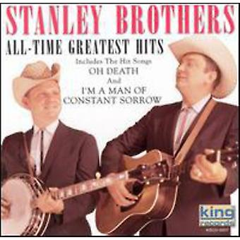Stanley brødre - All-Time Greatest Hits CD] USA importerer