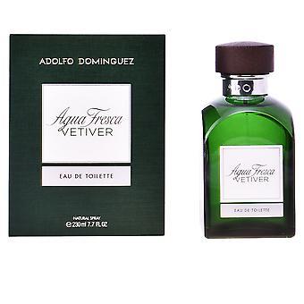 Adolfo Dominguez Agua Fresca Vetiver Edt Spray 120 Ml voor mannen
