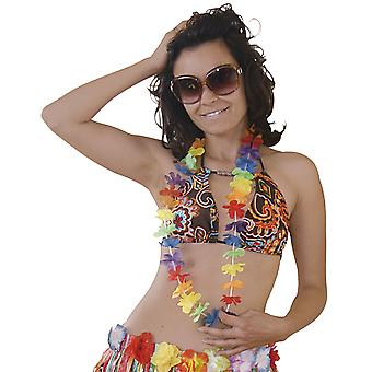 Hawaiikette Blumenkette 1m Hula Hawaii Blumen Kette Beach Party