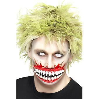 Riesiger Mund Mutation Maske Halloween 15 cm Grinsemaske