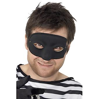 Maska lupiče, černá