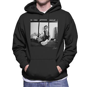 Paul Weller mit Teddybär Männer das Sweatshirt mit Kapuze