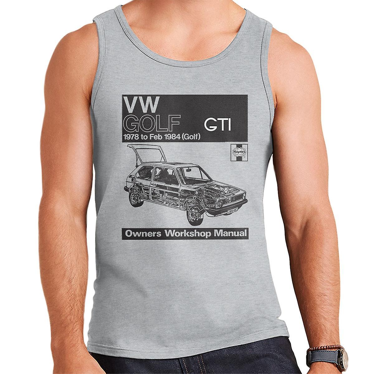 Haynes Workshop manuell VW Golf GTI 78 til 84 svart menn Vest