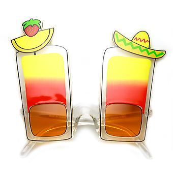 Fiesta Cinco De Mayo Tequila Sunrise Drink Party nyhed solbriller