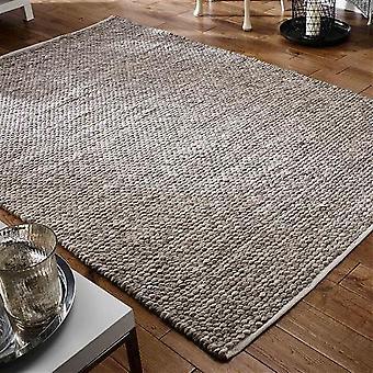 Alfombras Savannah Savannah Taupe rectángulo alfombras llano casi llanos