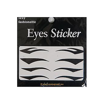 Maquillaje y tatuaje de pestañas delineador de ojos