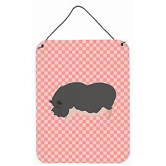 Cochon vietnamien Pot à ventre rose cocher mur ou porte accrocher impressions