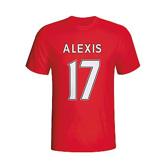 Alexis Sanchez Arsenal eroe T-shirt (red) - Bambini