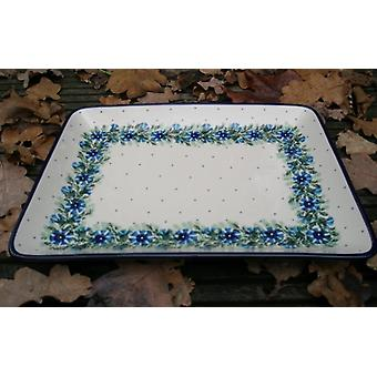 Plate, rectangular, BSN, 27 x 21 cm, tradition 7 X-027