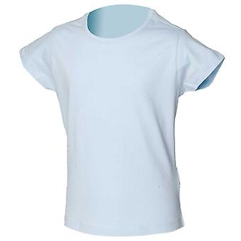 Skinni Minni Stretch Girls Colours Short Sleeve Cotton Fitted T-shirt