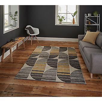 Pemboke HB33 Beige gelbes Rechteck Teppiche moderne Teppiche