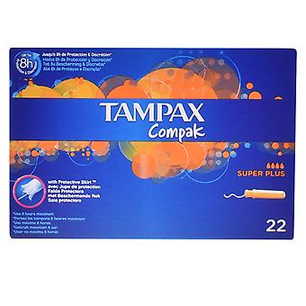 Tampax Tampax Compak Tampón Super Plus 22 Uds dla kobiet